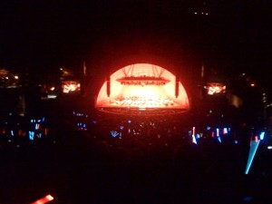 The Imperial March finale at the Hollywood Bowl.
